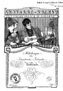 Contents of the German Magazine: Der Gitarrefreund (1900-31) – Masami Kimura, 2005