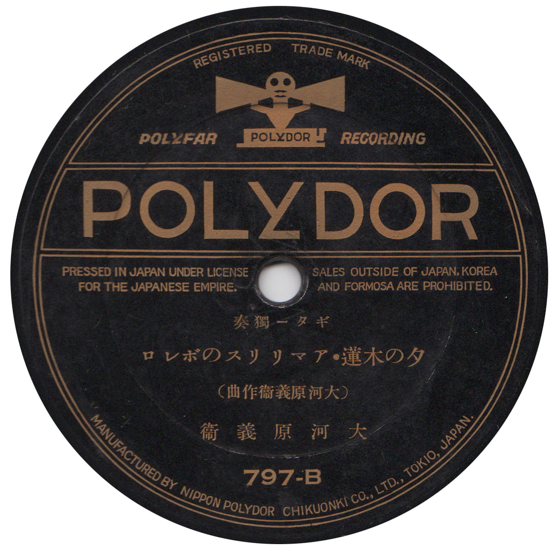 Early Japanese guitar records