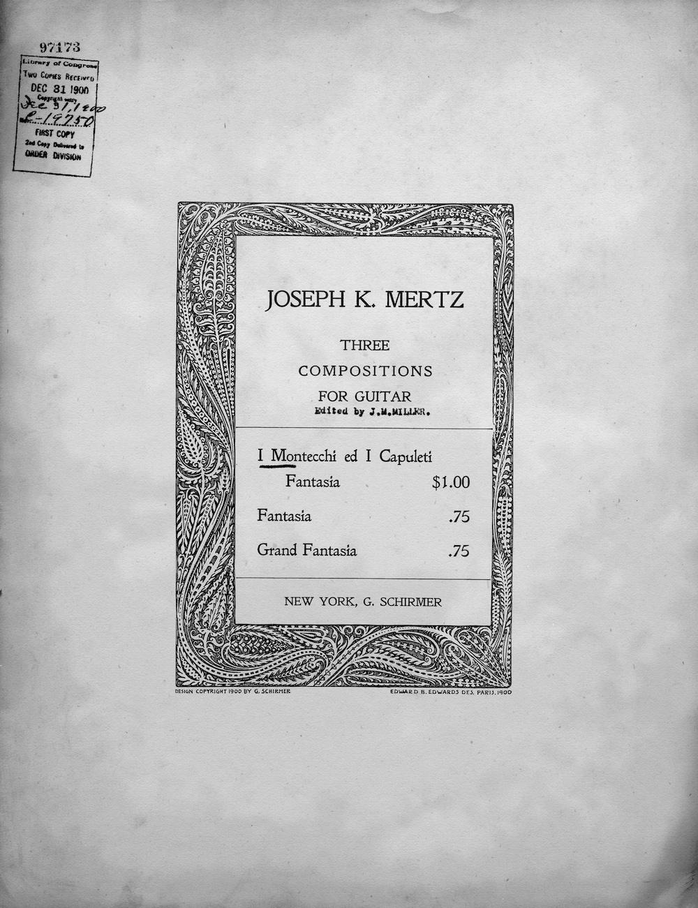 J. K. Mertz – Johann or Joseph? – research by Masami Kimura