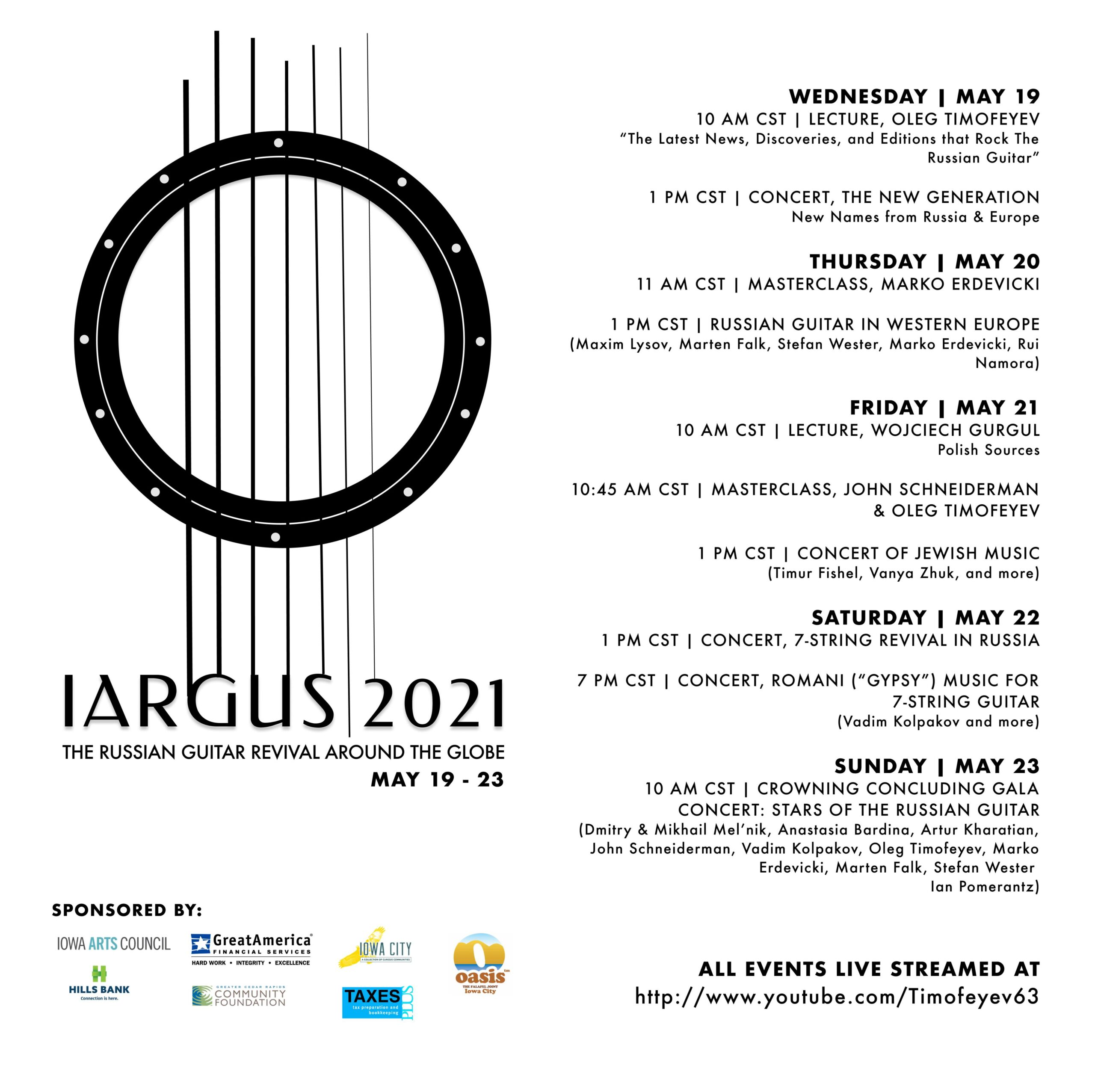 IARGUS 2021 THE RUSSIAN GUITAR REVIVAL AROUND THE GLOBE